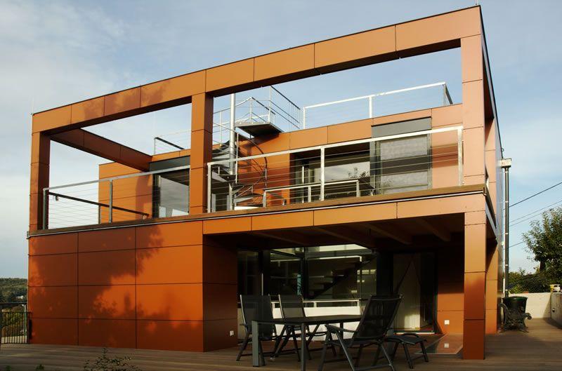 Kleingartenh user architektur - Architektur kubus ...